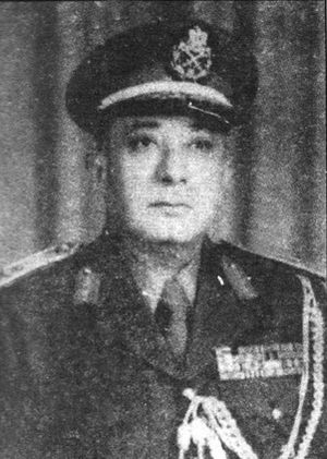 Battle of the Chinese Farm - Colonel Abd el-Hamid Abd el-Sami', commander of the 16th Infantry Brigade. As of the night of October 15/16, his unit bore the main brunt of Israeli attacks throughout the battle.