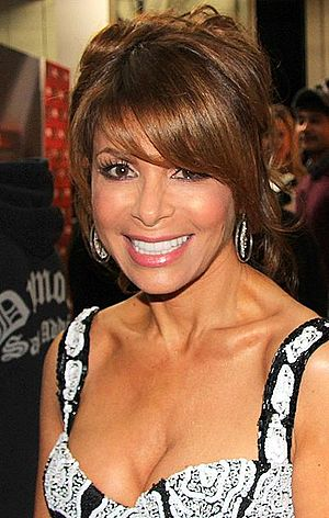 Paula Abdul - Abdul backstage at ''The X Factor'' (U.S.) in 2011
