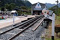 Abt system rails at Usui Pass Railway Heritage Park 2017-10-01 (36741261814).jpg