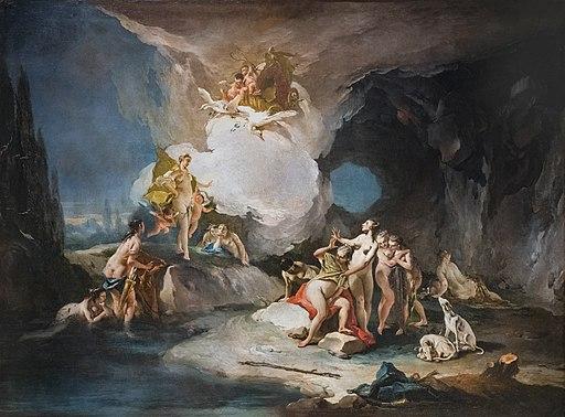 """""""Diana and Callisto"""" by Giovanni Battista Tiepolo - Gallerie dell'Accademia"""