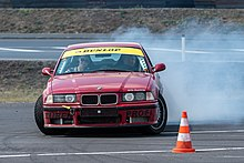 BMW M3 e36 drift scene