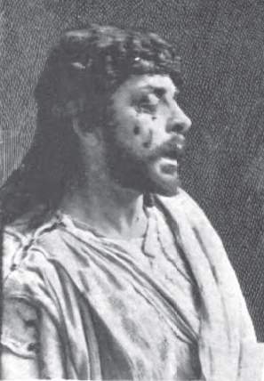 Actor Mounet-Sully as Oedipus