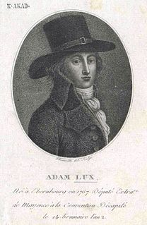 Adam Lux German revolutionary