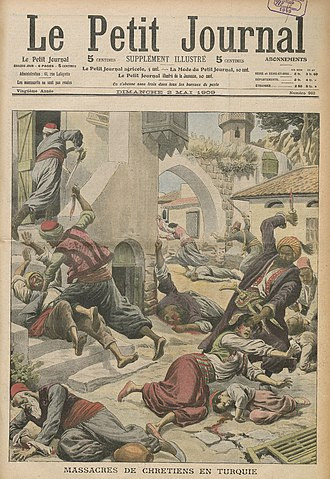 Assyrian people - A massacre of Armenians and Assyrians in the city of Adana, Ottoman Empire, April 1909