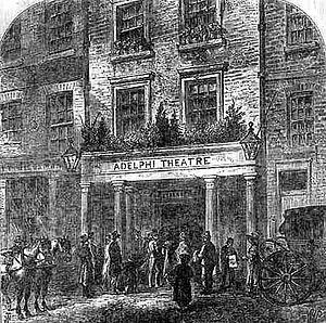 Queen's Theatre, Dublin - Adelphi Theatre (1829–1844)
