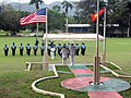 Adm. Walsh reviews the Papua New Guinea Defence Force (PNGDF) Honor Guard (5889568344).jpg
