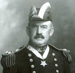 Frank Friday Fletcher - Admiral Frank F. Fletcher wearing his Medal of Honor, c. 1919