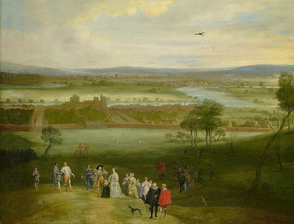 Adriaen van Stalbemt - A View of Greenwich