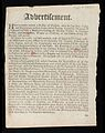 Advertisement ; Here is lately arrived a doctor of physick Wellcome L0032208.jpg