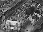 Aerial photograph of Westerkerk and Anne Frank House - 1920 - 1940.jpg
