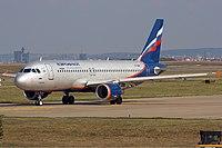 VP-BMF - A320 - Aeroflot