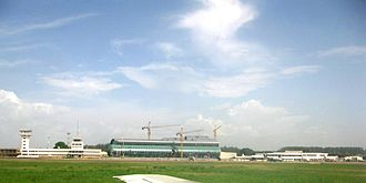 Republic of the Congo - Maya-Maya Airport in Brazzaville.