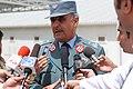 Afghan National Police Brig. Gen. Shafiq Zarifi talks to Afghan reporters (4887884452).jpg