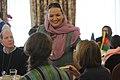 Afghan Parliamentarian Shukria Barakzai and Leader Pelosi.jpg