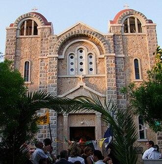 Leros - The church of Agia Marina