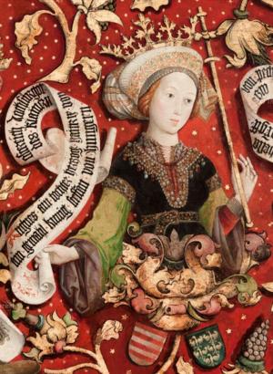 Agnes of Austria (1154–1182) - Image: Agnes von Österreich, Gemahlin Steffan von Hungern (1151 1182)