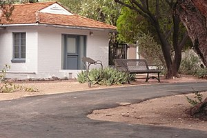 National Register of Historic Places listings in Pima County, Arizona - Image: Agua caliente historical marker