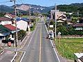 Aichi Prefectural Road Route 332 at Akasaka-cho, Toyokawa, Aichi (2015-10-03) 01.JPG