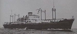 Aikoku Maru (1940) - Aikoku Maru in 1941 in Mitsui livery
