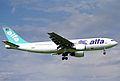 Air Alfa Airbus A300B4-2C; TC-ALN@ZRH;10.07.1997 (5491351675).jpg