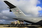 Airmen deploy to deliver Ebola treatment facility with U.S. relief package 140926-F-KB808-196.jpg