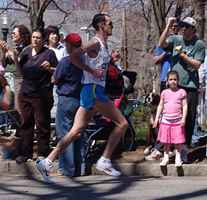 Alan Culpepper - Culpepper during the 2005 Boston Marathon