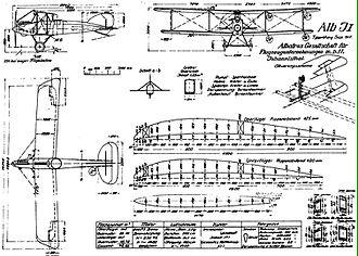 Albatros J.I - Albatros J.I drawing