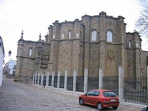 Alcántara - Convent of San Benito de Alcántara (16th century).