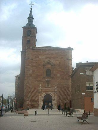 Alcázar de San Juan - Saint Francis Church.