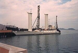Turkmenbashi International Seaport - Alcyone in 1998,  Port of Turkmenbashy city