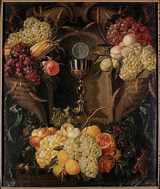 Alexander Coosemans - Allegory of the Eucharist