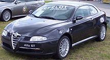 The Alfa Romeo GT appeals to the driver, while still luxurious.