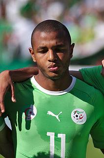 Yacine Brahimi Algerian footballer