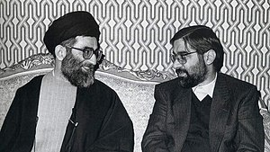 Ali Khamenei (Left) - Mir-Hossein Mousavi (Right).jpg