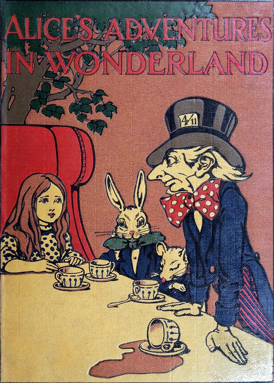 Alice's Adventures in Wonderland - Carroll, Robinson - S001 - Cover