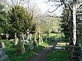All Saints' Churchyard, Netherthong - geograph.org.uk - 1277782.jpg