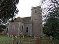 All Saints Church, Farley, Wiltshire, England from NW.jpg