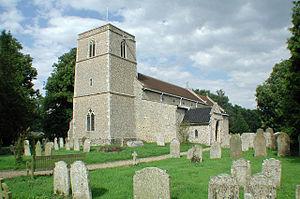 James Woodforde - All Saints' Church, Weston Longville in 2001