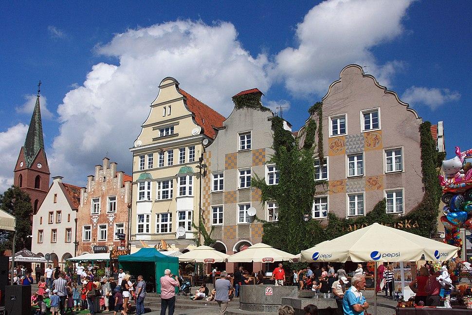 Allenstein Marktplatz