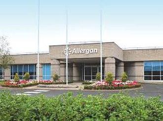 Allergan - Alleran plc headquarters in Ireland