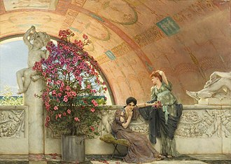 1893 in art - Image: Alma Tadema Unconscious Rivals 1893
