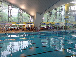 Alsterschwimmhalle, during the German Universi...