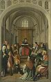 Altaarstuk met Jezus lerende in de tempel en de verschijning aan Maria Rijksmuseum SK-A-1307.jpeg