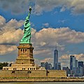 Amazing View of Statue of Liberty and One world Trade.jpg
