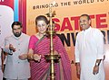 Ambika Soni inaugurating the 13th Annual South Asia Travel & Tourism Exchange (SATTE) Buyer Seller Meet, in New Delhi. The Minister of State (Independent Charge) for Civil Aviation.jpg