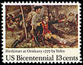 American Bicentennial - Battle of Oriskany - 13c 1977 issue U.S. stamp.jpg