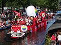 Amsterdam Gay Pride 2013 boat no17 Vodafone pic3.JPG