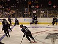 Anže Kopitar, Kings vs. Detroit warm up 2007.jpg