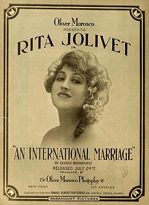 Rita Jolivet - An International Marriage (1916)