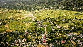An aerial view of Bir, Kangra valley sights nature culture Himachal Pradesh India 2015.jpg